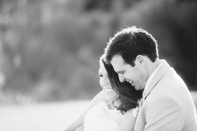 Rustic & Romantic Burlap & Peach Wedding via TheELD.com