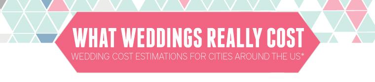 What Weddings Really Cost via TheELD.com