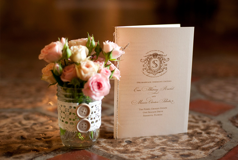 A Classic Romantic Blush and White Wedding via TheELD.com