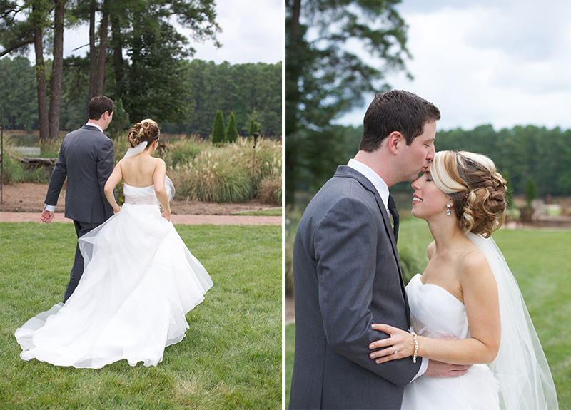 A Rustic Lavender North Carolina Wedding via TheELD.com