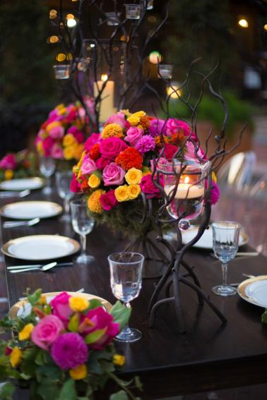 Colorful New Orleans Garden Wedding Inspiration via TheELD.com