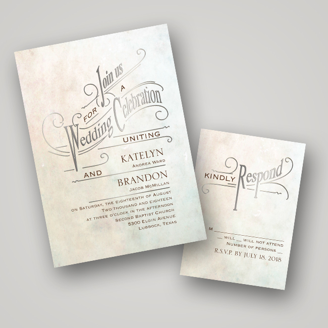 Wedding Invitation Ideas FoilPressed Invitations Every Last Detail