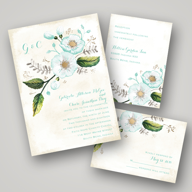wedding invitation ideas foil pressed invitations every last detail