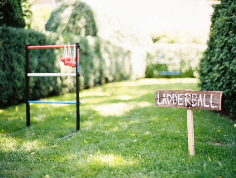 Backyard Wedding Games eco-friendly north carolina farm wedding | every last detail