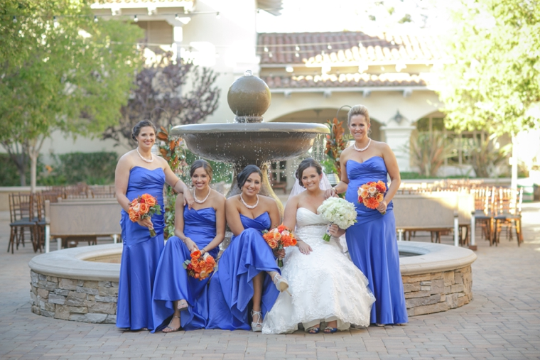 A Cobalt Blue Spanish Inspired Wedding | Every Last Detail