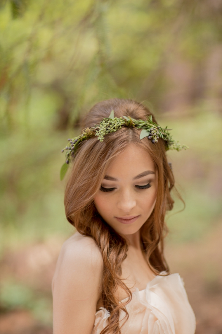 Eclectic Woodland Wedding Inspiration via TheELD.com