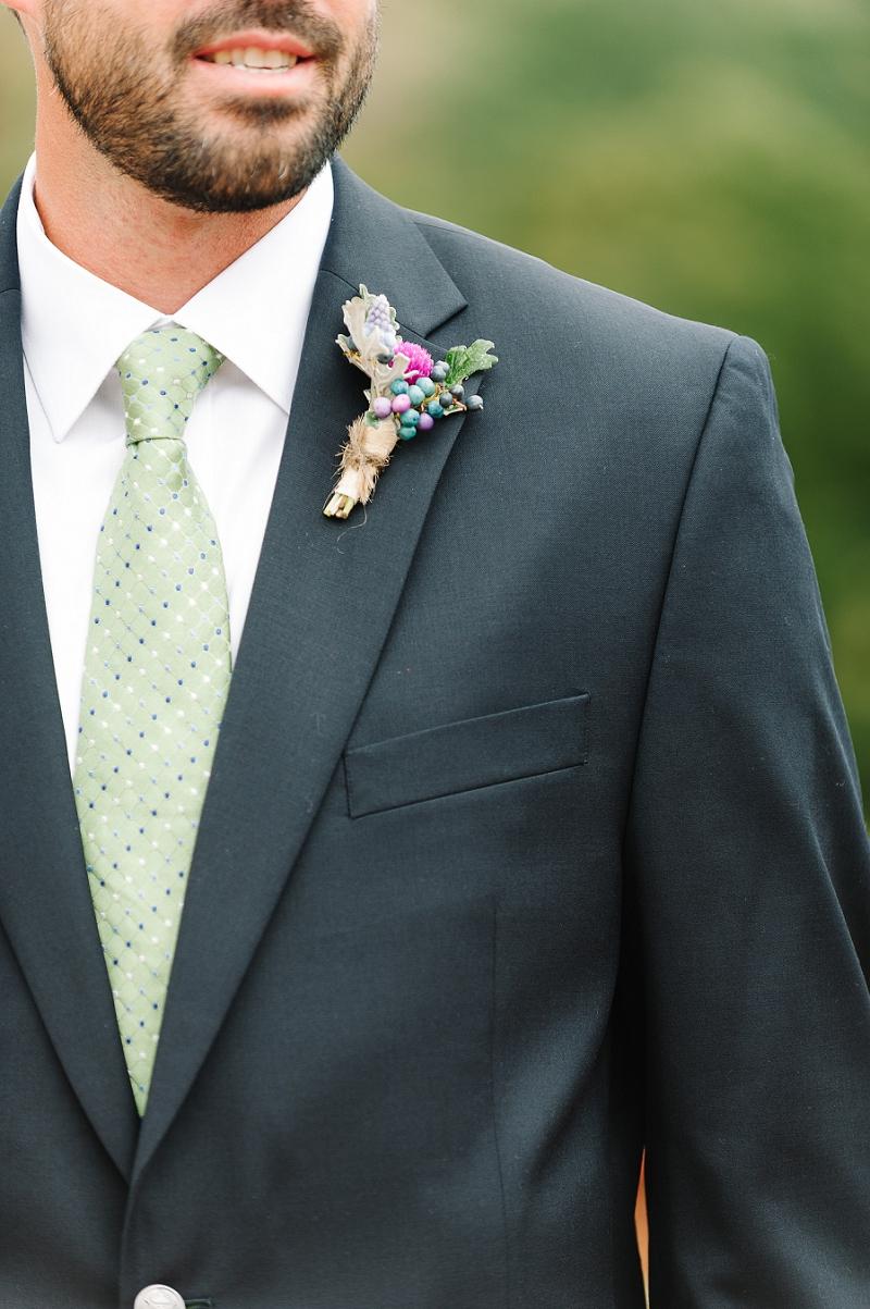 Rustic Lavender and Blue Virginia Wedding via TheELD.com