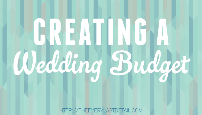 The Truth About Creating A Wedding Budget via TheELD.com