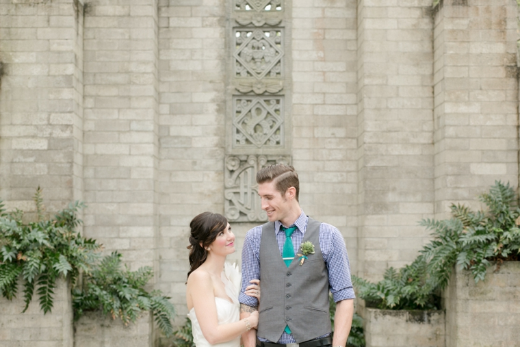 Eclectic & Colorful Geometric Wedding Ideas via TheELD.com