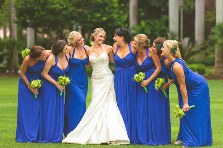 Glamorous Champagne & Blue Wedding | Every Last Detail