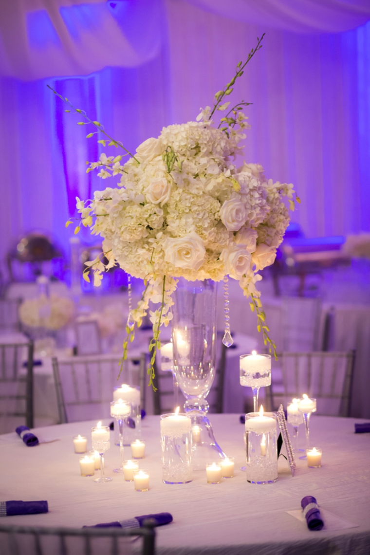 An Elegant Purple and White Wedding | Every Last Detail