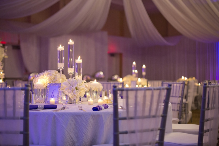 An Elegant Purple And White Wedding Every Last Detail