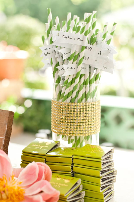 A Whimsical & Romantic Garden Wedding via TheELD.com