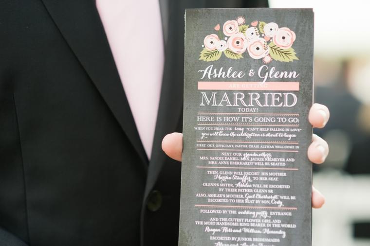 Vintage Peach Florida Wedding via TheELD.com