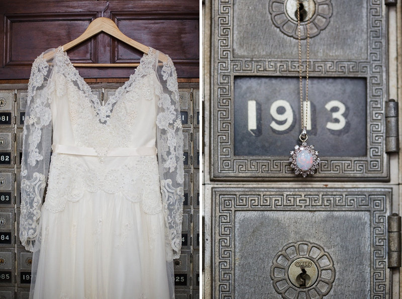 A Jewel Toned Vintage Bohemian Wedding via TheELD.com