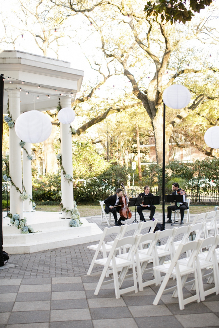 A Classic Light Blue New Orleans Wedding via TheELD.com