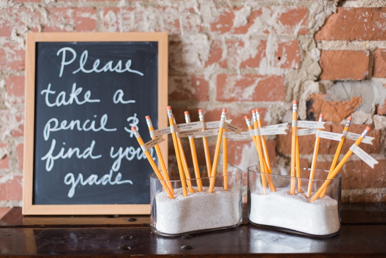 Childhood Sweetheart Wedding Ideas via TheELD.com