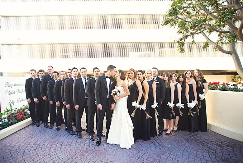 Chic Classic California Wedding via TheELD.com