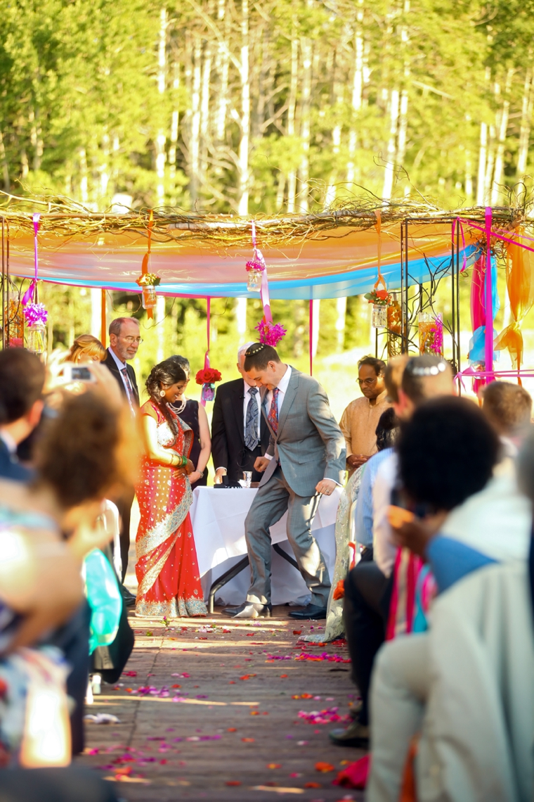 Colorful Multicultural Utah Wedding via TheELD.com