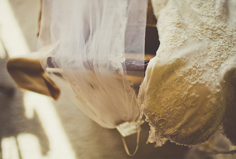 Eclectic & Vintage California Wedding via TheELD.com
