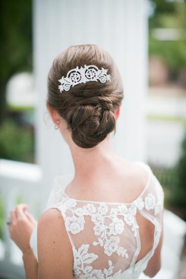 A North Carolina Southern Vintage Wedding via TheELD.com