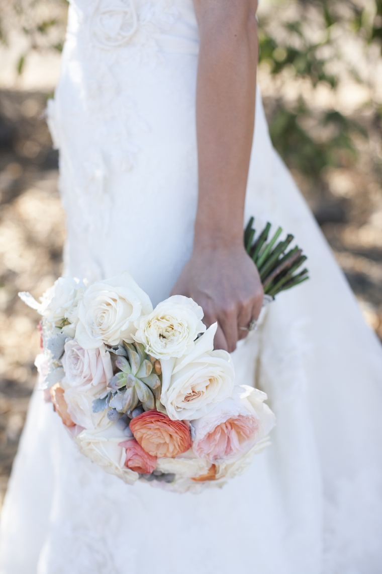 Rustic Chic California Wedding via TheELD.com