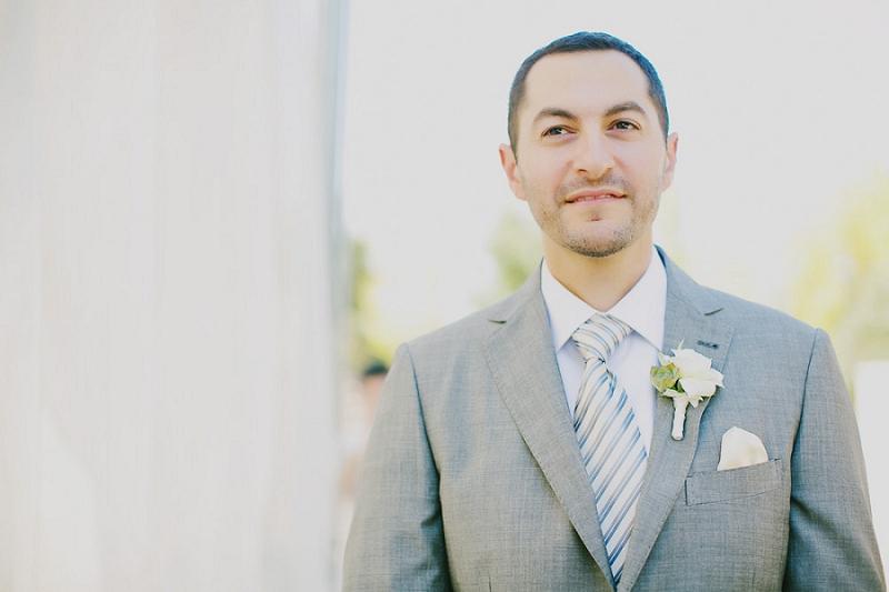 Rustic Yellow and Gray Wine Country Wedding via TheELD.com