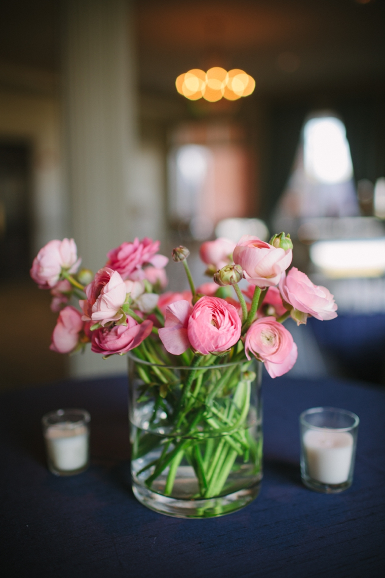 Modern Chic Pink And Navy Wedding Every Last Detail