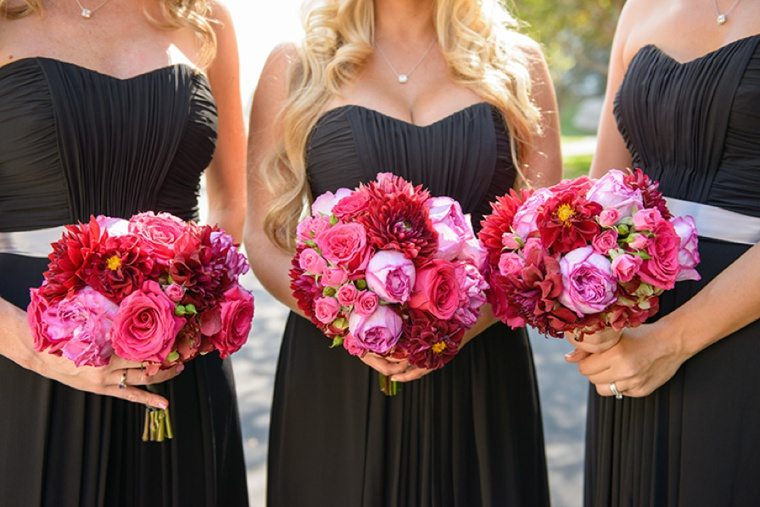 Modern Elegant Pink and Black Wedding | Every Last Detail