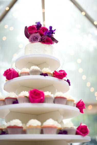 Pink & Purple South Carolina Wedding via TheELD.com