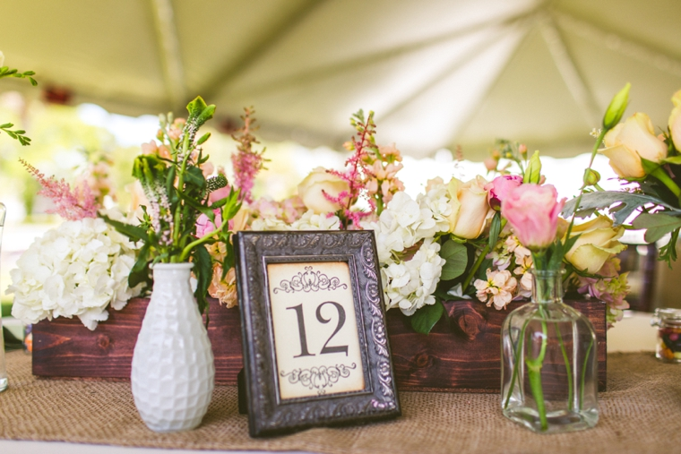 ... A Romantic U0026 Vintage Garden Wedding Via TheELD.com ...