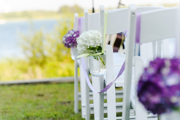 An Elegant Lavender and White Wedding via TheELD.com