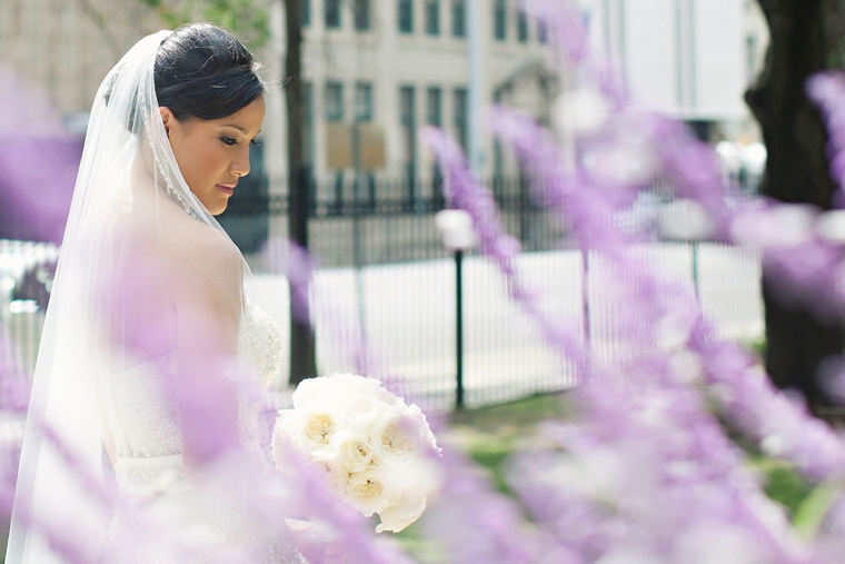 Chic Elegant Gold and White Wedding via TheELD.com