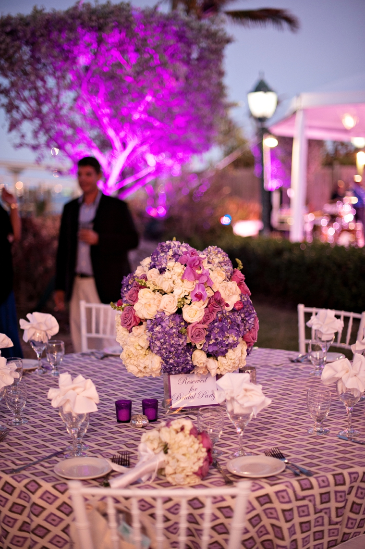 Modern Elegant Purple and White Wedding | Every Last Detail