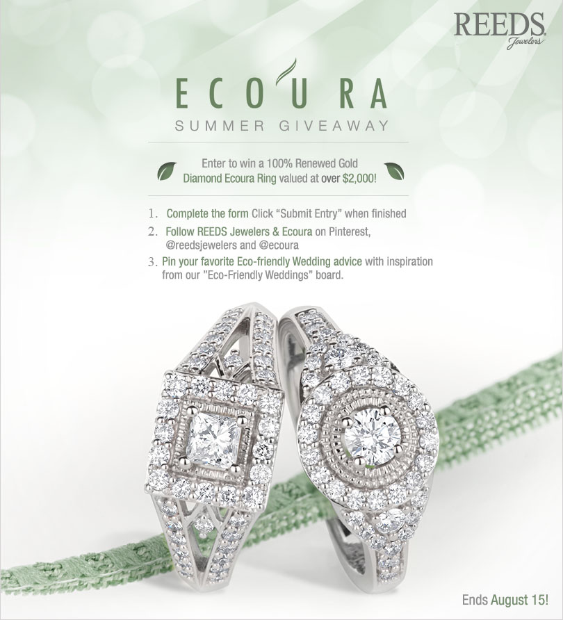 Win An Eco Friendly Engagement Ring! via TheELD.com