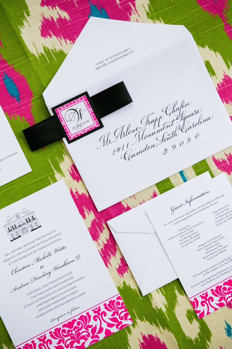 South Carolina Lilly Pulitzer Inspired Wedding via TheELD.com