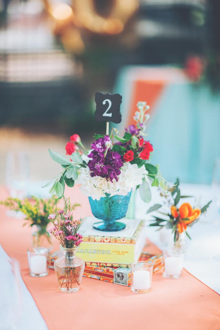 Fun, Eclectic & Colorful Wedding via TheELD.com