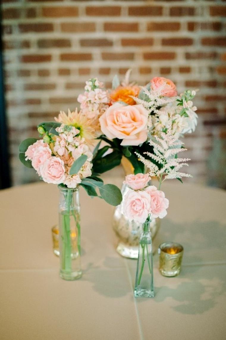 A Peach & Blush South Carolina Wedding via TheELD.com