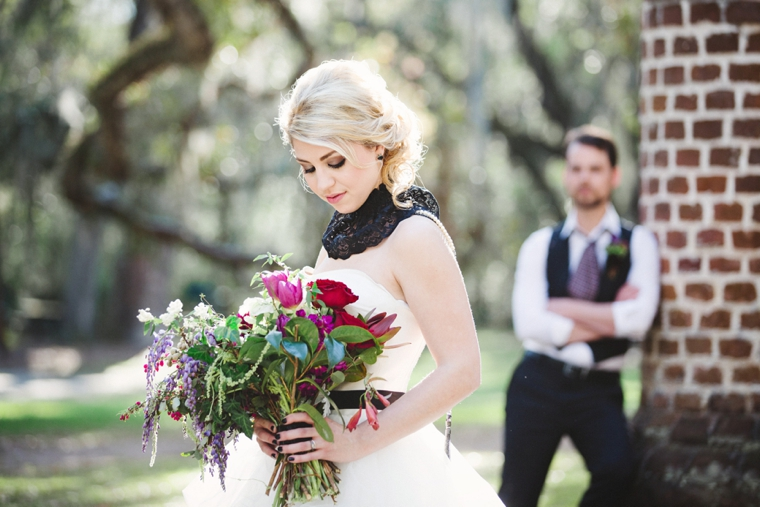 Dramatic, Dark & Romantic Wedding Ideas via TheELD.com