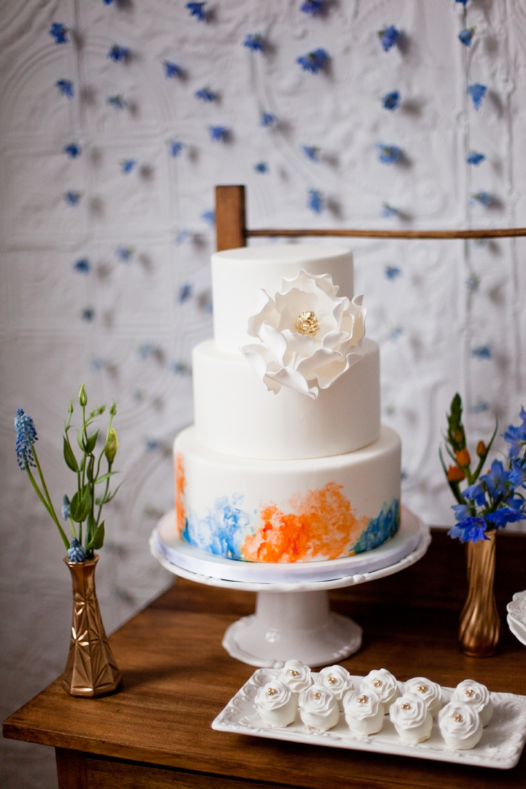 Mediterranean Inspired Orange & Blue Wedding Ideas | Every Last Detail