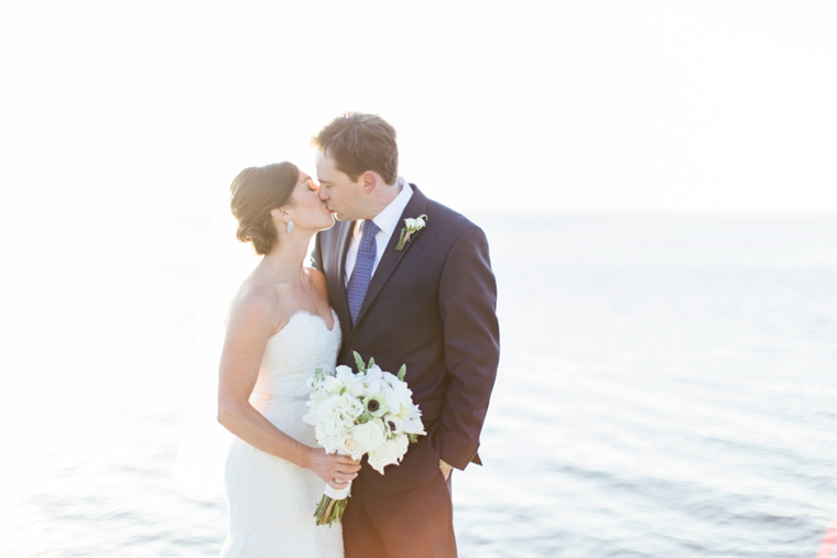 A Romantic Riverfront Blush Wedding via TheELD.com