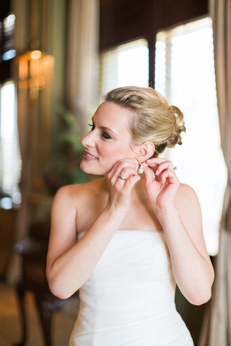 A Romantic Mint and Peach Wedding via TheELD.com