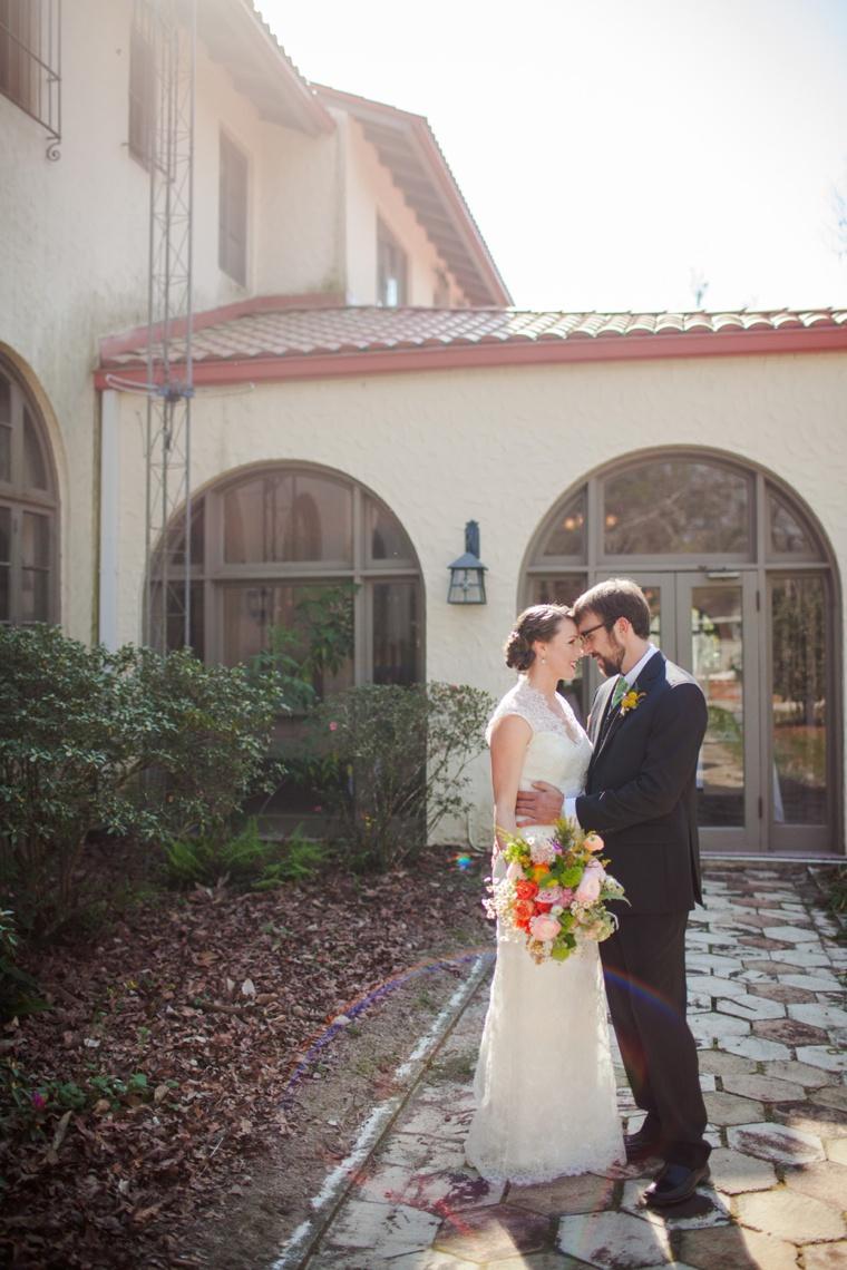 A Colorful Rustic Chic Wedding  via TheELD.com