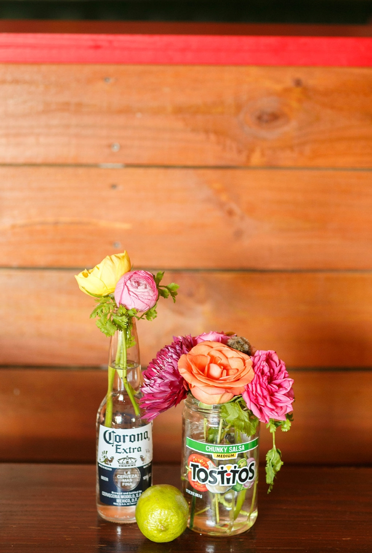 Colorful Mexico Inspired Wedding Ideas via TheELD.com