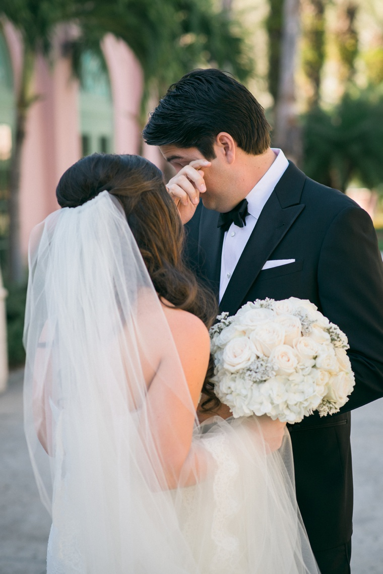An Elegant Navy and Gold Wedding via TheELD.com