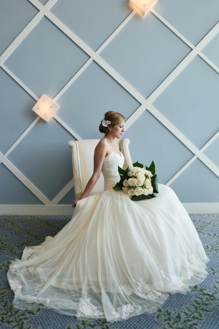 Elegant Coastal Themed Navy and White Wedding Every Last