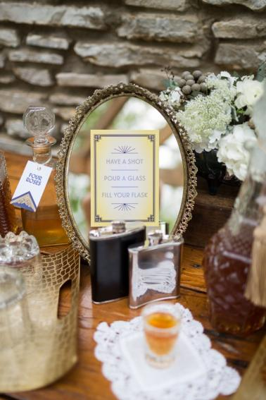 Vintage 1920s Wedding Ideas via TheELD.com