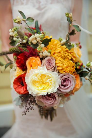 A Rustic Utah Ranch Fall Wedding via TheELD.com