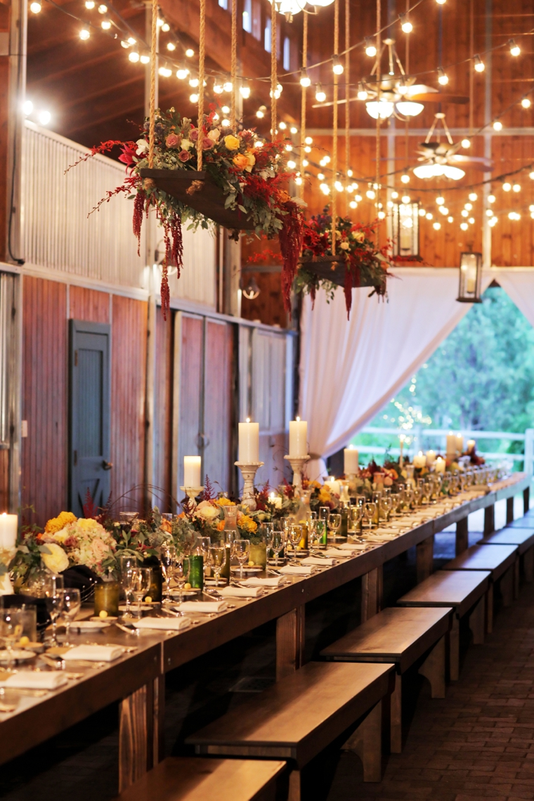 A Rustic Utah Ranch Fall Wedding Via TheELD