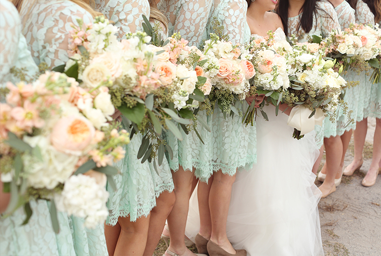 The Best Real Weddings of 2014 via TheELD.com